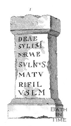 Roman Altar, found at Bath