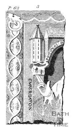 Christian Statue, found at Bath