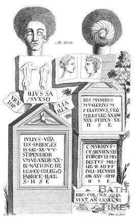 Roman Antiquities, found at Bath