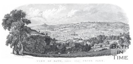 View of Bath taken near Prior Park, c.1837