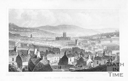 Bath, from Beachen Cliff, 1829