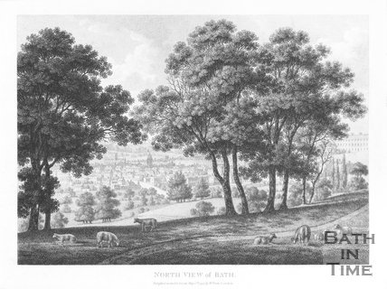 North View of Bath, 1794