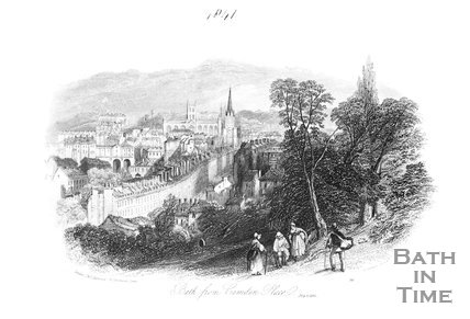 Bath from Camden Place, 1841