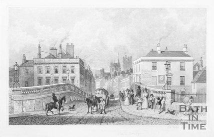 Bath Bridge (The Old Bridge), 1829
