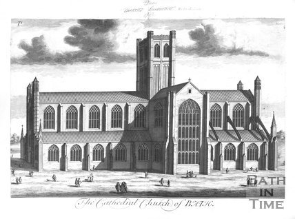 The Cathedral Church of Bath Abbey 1724, 1713