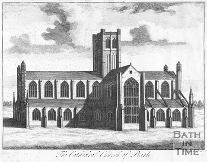 The Cathedral Church of Bath Abbey 1724, 1719