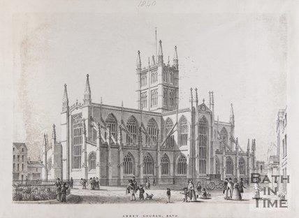 Abbey Church, Bath, c.1840