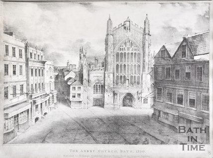 The Abbey Church, Bath, 1750, c.1837