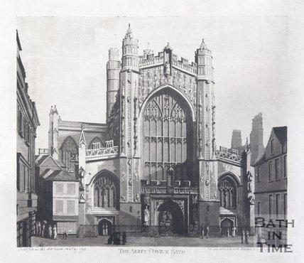 The Abbey Church of Bath, 1793