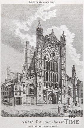 Abbey Church. Bath, 1797