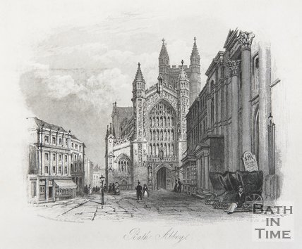 Bath Abbey, 1846