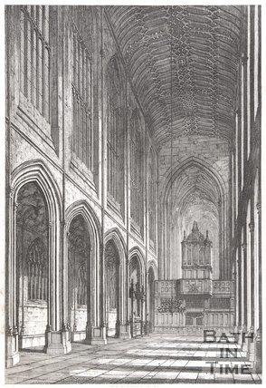 Bath Abbey, Somersetshire, 1818