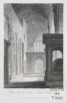 Prior Birds Chapel, Bath Cathedral, 1814