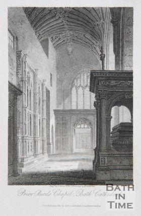 Prior Birds Chapel, Bath Cathedral, 1814