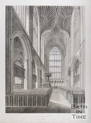 Bath Abbey Church, 1845