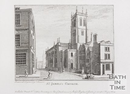 St. James's Church, Bath, 1784
