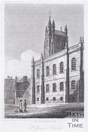 St. James's Church, Bath, 1818