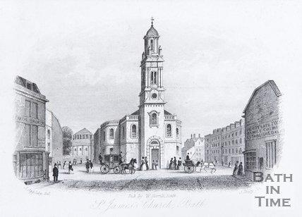 St. James's Church, Bath, 1850
