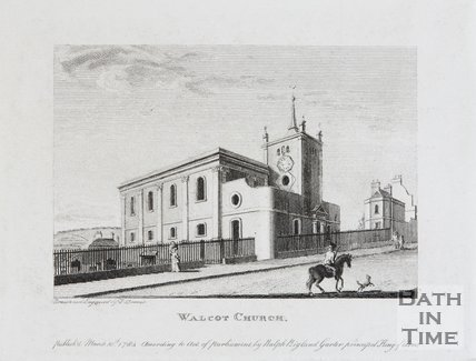 Walcot Church, Bath, 1784