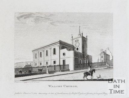 Walcot Church, Bath, 1784