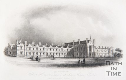 Walcot Home and Parochial Alms Houses, Bath, c.1845