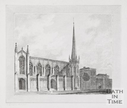 New Free Church, James Street West, Bath, 1821