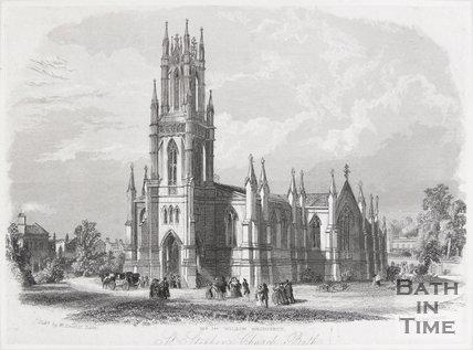 St. Stephen's Church, Bath, 1844
