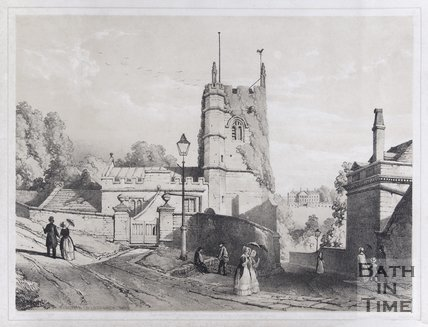 Widcombe Old Church, Bath, c.1850
