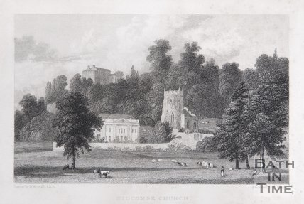 Widcombe Church, near Bath, 1830