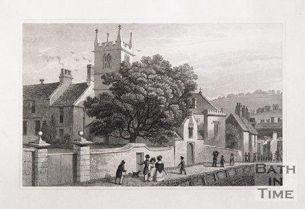 Magdalen Chapel, Hollway, Bath, 1829