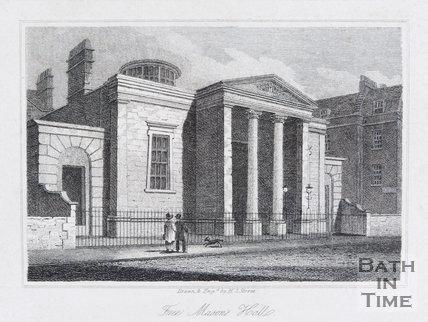 Free Mason's Halls, Bath, 1819