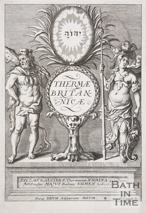 Frontispiece to Thermae Britannicae by Thomas Guidot