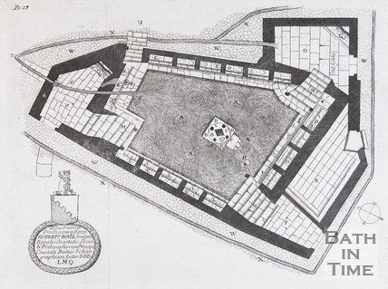 Plan of Cross Bath, 1691