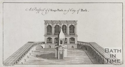 A Prospect of ye Kings Bath in ye City of Bath, 1731