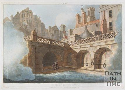 Inside of Queen's Bath, 1804