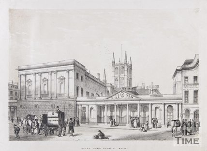 Baths, Pump Room & c. Bath, c.1837