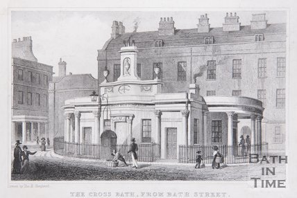 The Cross Bath, from Bath Street, 1829