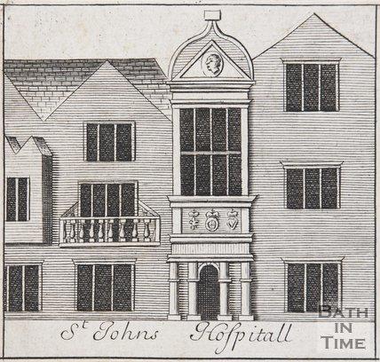 St Johns Hospital, Bath, 1694
