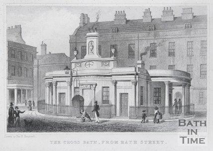 The Cross Bath, from Bath Street, 1829
