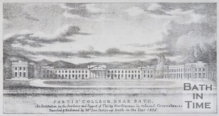 Partis College, near Bath, 1824