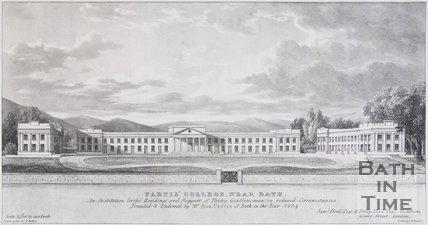 Partis College, near Bath, 1824