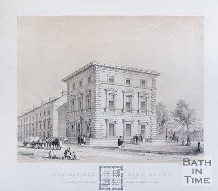 New Savings Bank, Charlotte Street, Bath, c.1841