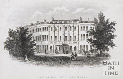 Grosvenor College, Bath, c.1845