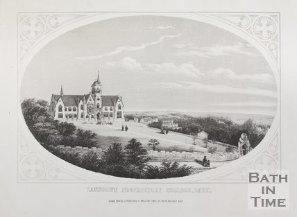 Lansdown Proprietary College, Bath, c.1857