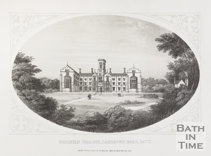 Wesleyan College, Lansdown Road, Bath, c.1857