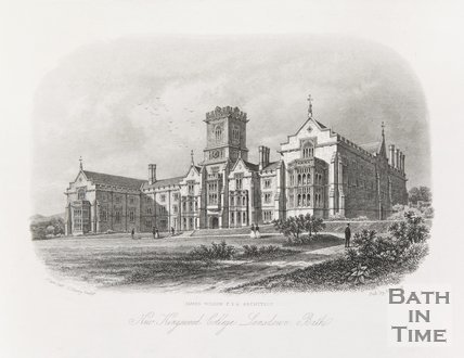 New Kingswood College, Lansdown Bath, 1852