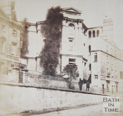 Walcot National School Vineyards, Bath, 1849