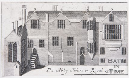 The Abbey House or Royal Lodgings, Bath, 1694