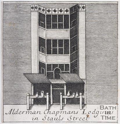 Alderman Chapman's Lodging in Stauls Street, Bath, 1694
