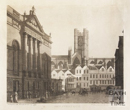 High Street, Bath, 1793
